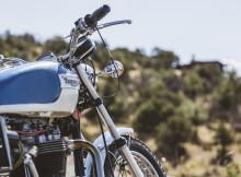 Motocykl Triumph Test rozdzielczosci zdjec